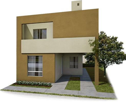 Casas en venta en Guadalupe- Modelo Castilla lV - 7 C