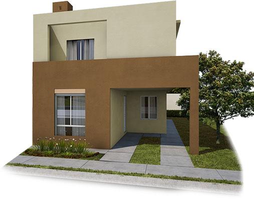 Casas en venta en Guadalupe- Modelo Castilla lV - 7 F