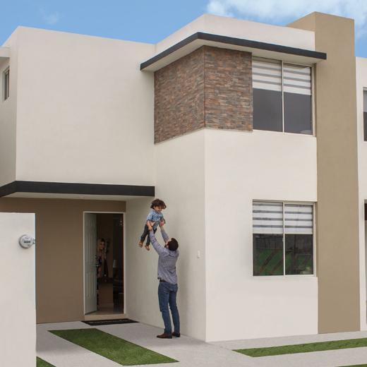 Foto de casa en venta en Guadalupe, Nuevo León, modelo Provenza, Paseo Amberes.
