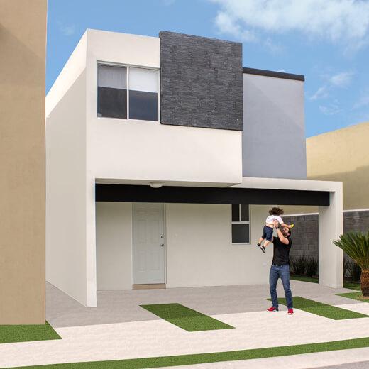 Foto de casa en venta en Guadalupe, Nuevo León, modelo Soria, Paseo Amberes.